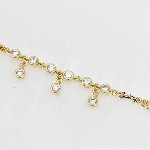 Juicy Couture crystal drop necklace